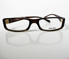 b79cea79b5cb Miu Miu VMU14E Women Glasses Frames Spectacles Dark Brown