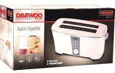 Daewoo 220V DI9117 4 Slice Toaster 220 240 Volt Euro Plug (NOT FOR USA) 240v