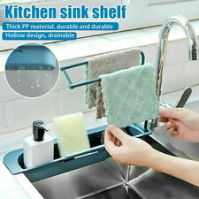 Telescopic Sink Rack Holder Expandable Storage Drain Basket for Home Kitchen Kit