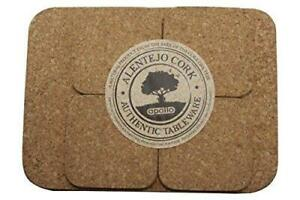 Apollo Cork Placemats and Coasters Set of 4