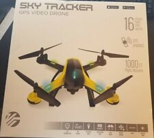 Vivitar VTI Skytracker GPS Video Drone HD 1000 ft Follow Me Headless WiFi APP