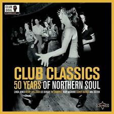 CLUB CLASSICS 50 YEARS OF NORTHERN SOUL Various 2x LP Vinyl (CHARLY) 60s 70s