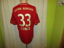 "FC Bayern München Original Adidas Heim Trikot 2011/12 ""-T---"" + Nr.33 Gomez Gr.M"