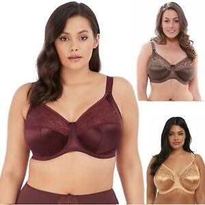 Elomi Cate Bra 4030 Underwired Full Cup Coverage Plus Size DD to K