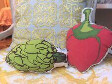 Artichoke Mini Throw Pillow Decorative Accessory Kitchen Bedroom Study Play