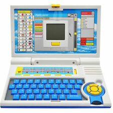 Educational English Learning Screen Laptop Toy Computer With Mouse For Kids