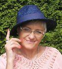 Sombrero Mujer Seeberger PAJA NATURAL Gorro de verano jardín Vacaciones Ocasión