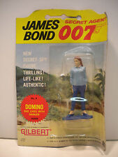 James Bond 007 Domino No. 9 Figure by Gilbert 1965 SEALED MOC Thunderball