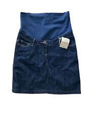 BODEN Maternity Mini Skirt Dark Denim Women's US 4 NEW