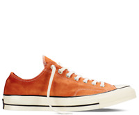Converse Men's Chuck 70 Suede Ox Sneakers, Camp Fire Orange/Black/Egret