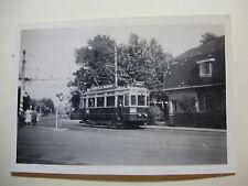 N105 1940s NZH TRAMWAYS - TRAM No A326 PHOTO Netherlands Noord-Zuid-Hollandsche