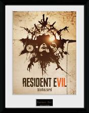 Resident Evil Talismán enmarcado impresión de coleccionista