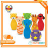 Melissa & Doug K's Kids Bowling Friends Play Set And Game With 6 Pins - 19160