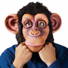 Halloween Cosplay Adult Costume Gorilla Big Eared Monkey Animal Head Mask Toys