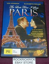 THE LAST TIME I SAW PARIS DVD (ELIZABETH TAYLOR, VAN JOHNSON) 1954 ALL REGIONS
