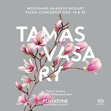 Mozart / Tamas Vasar - Piano Concertos Nos. 14 & 26 [New SACD]