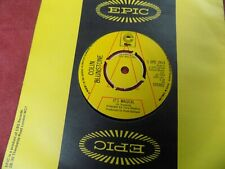 "COLIN BLUNSTONE It's magical 7"" Promo 1970's POP"