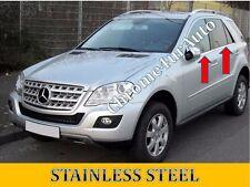 Mercedes ML320 ML350 ML550 W164 Window Sill Trim Overlay Stainless Steel 06-11