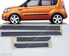 OEM Front Rear Door Side Body Waist Line Molding LH RH 4PCS KIA Soul 2009-2013