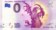63 VULCANIA Dragon Ride, 2019, Billet 0 € Souvenir
