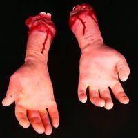 Halloween Decoration Blood Severed Limbs Hands Feet Horror Chop Shop Prop Party