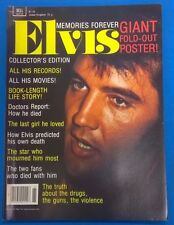 ELVIS Magazine 1977 color fold-out poster intact