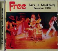 "FREE : ""Live In Stockholm December 1970"" - Radio broadcast (RARE CD)"