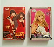 Hannah Montana or Camp Rock Playing Cards, Special 3D Joker Disney Poker