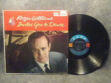 33 RPM LP Record Roger Williams Invites You To Dance Kapp Records KL-1222
