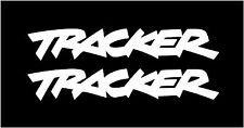 Tracker decals, pair (2) Geo Chevy Vinyl Sticker, 4X4 suv decal