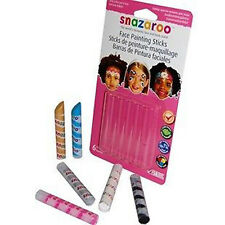 SNAZAROO Face Painting Sticks  - Girls