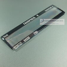 TAXAMETER   KIENZLE ORIGINAL  FRONTGLAS  1150  NEU TAXI GLAS  - 1150-40-001-03