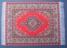 Escala 1:12 25cm X 17.5cm alfombra turca de tejido muñeca casa miniatura Alfombra P31L