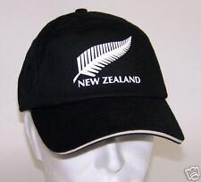 NEW ZEALAND casquette Hiver BLACK Noire *
