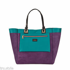 NEW FURLA AND I REVERSIBLE GENUINE LEATHER TOTE BAG HANDBAG