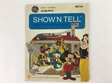 Disney Jungle Book GE Show 'N Tell Picturesound Program 1969 Record WD-116