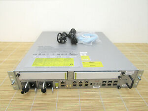 Cisco ASR-9001 ASR 9001 Router with 4 x 10 GE Dual AC PSUs 120Gbps Capacity