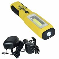 Super Bright Rechargeable Magbender Inspection Light Torch Lamp 3w COB LED