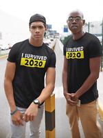 I Survived 2020 Premium Tshirt, Rona Pandemic, Cov 19 Quarantine Novelty Gift