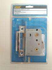 NEW 4Trade Bathroom Mortice Lock 64MM Chrome 802510