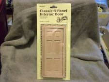 Houseworks #6007 Classic 6-panel Interior Door 1/12th scale