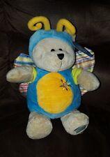 2008 STARBUCKS Coffee 73rd Edition BEARISTA BUTTERFLY BEAR Plush Stuffed Teddy