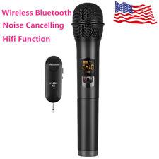 Portable Wireless Bluetooth Karaoke Stereo Microphone Mic Ktv Usb Speaker Player