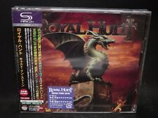 ROYAL HUNT Cast In Stone + 1 JAPAN SHM CD + DVD Witch Cross Narnia Silent Force