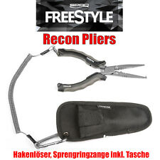 Mustad Cutter Zange Anglerzange Vorfach Stahlvorfach Seitenschneider /& Tasche