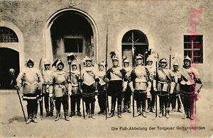 3 AK Die Torgauer Geharnischten, Der Adjutant, Die Fuß-Abteilung 1908, 22/02