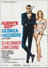 DR. NO JAMES BOND Italian 4F movie poster R71 SEAN CONNERY URSULA ANDRESS CASARO