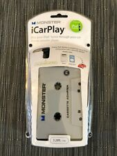 Monster iCarPlay Cassette Tape Car Adapter for iPod Mp3 & iPhone New Sealed Nos!
