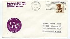 1970 Apollo NASA Natl Aero & Space Greenbelt Maryland Space Cover