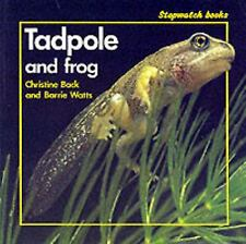 Tadpole and Frog by Back, Christine